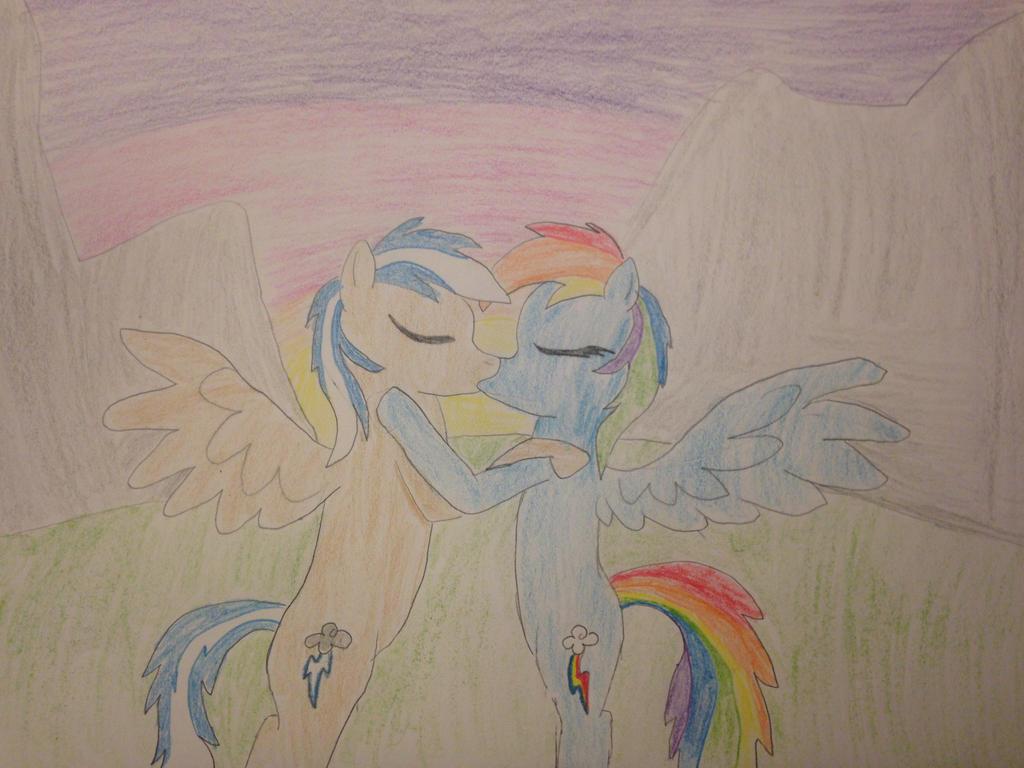 Carlos x Rainbow Dash by carlosisaboss24