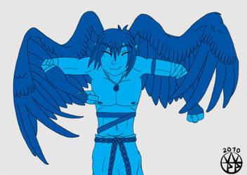 slap-happy feather boy by wippmaster