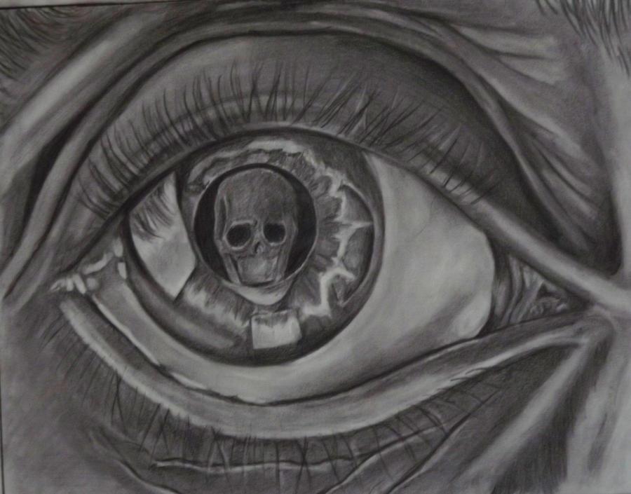 M C Escher S Eye By Watchthecorners On Deviantart