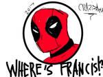WHERE's FRANCIS !? by LilWolfieDewey