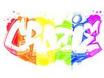 CRAZIE X RAINBOW by LilWolfieDewey