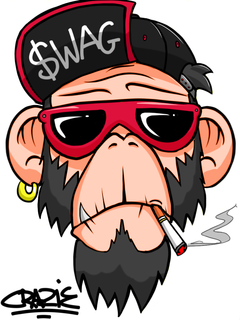 Monkey Swag By Lilwolfiedewey On Deviantart