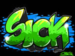 SICK  by LilWolfieDewey
