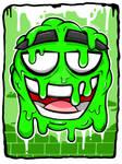 GREEN SLIME by LilWolfieDewey
