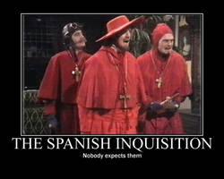 Motivator Spanish Inquisition