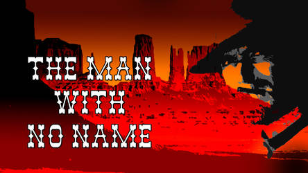 The man with no name sketch