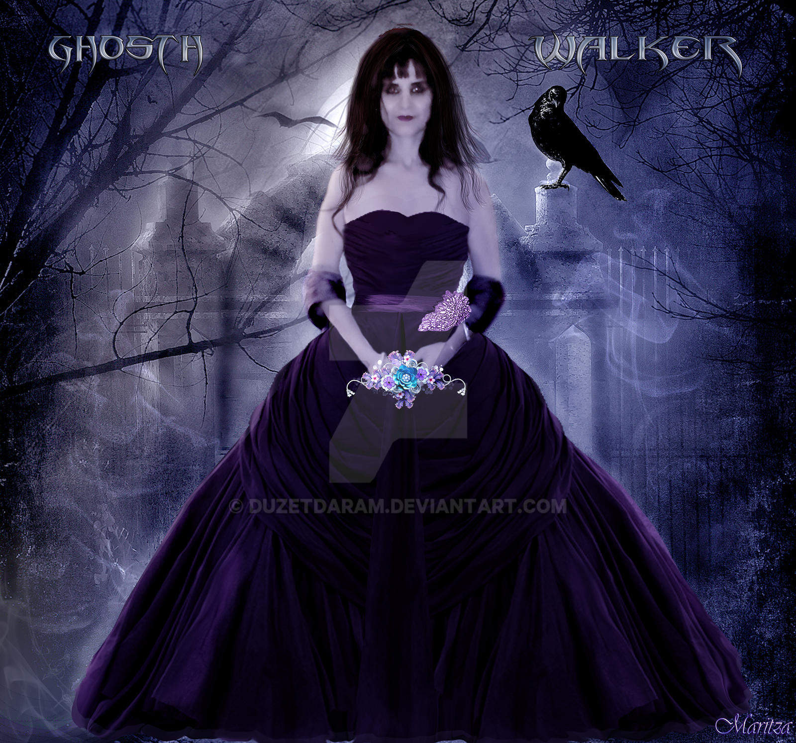 Ghost Walker by duzetdaram