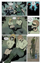 Black Canary and Green, it's a trap by iavepo