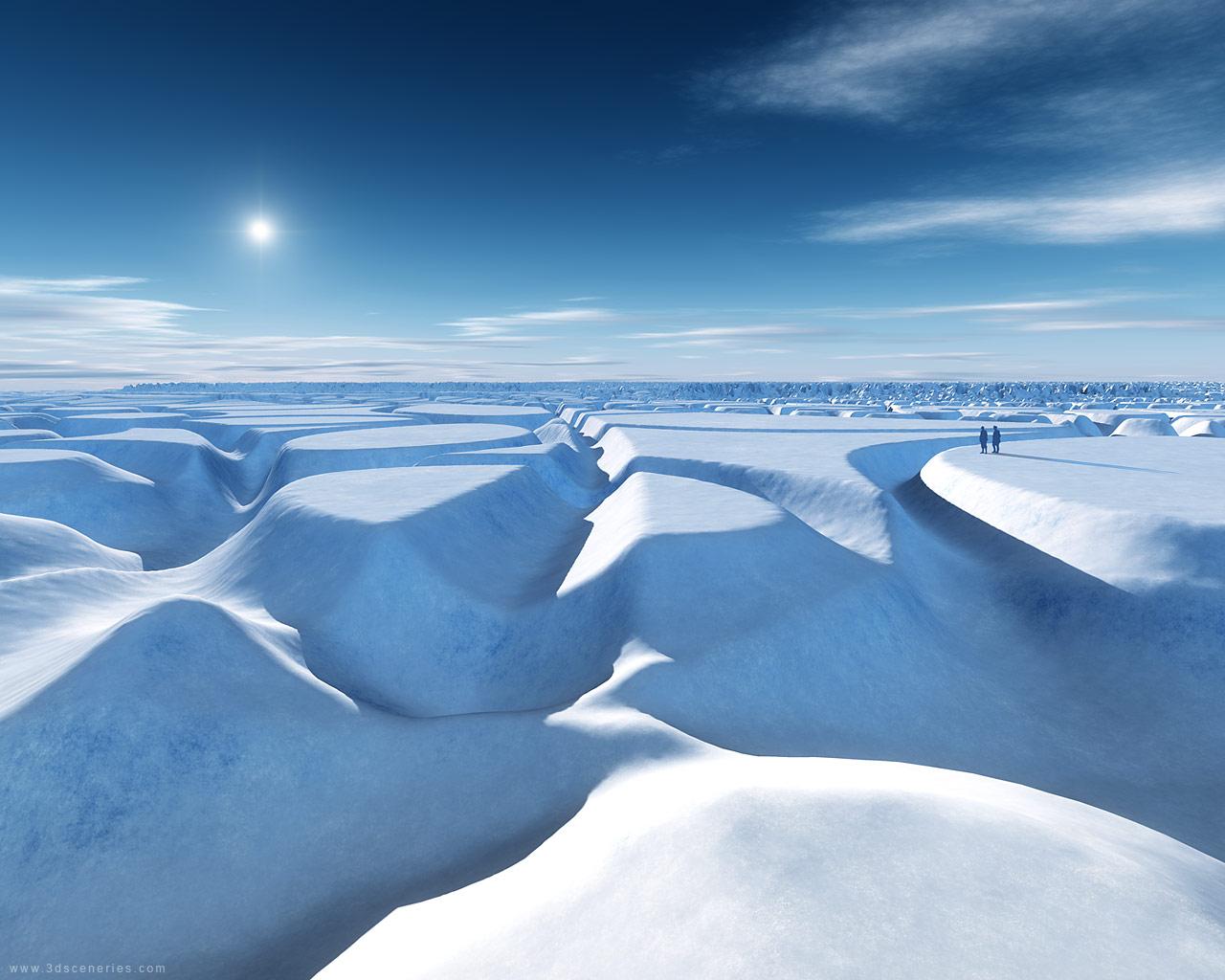 north pole by magann