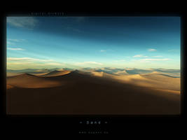 desert picture sand by magann