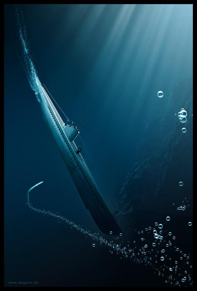 Submarine by magann
