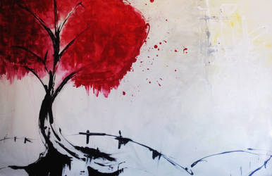 Red Tree by M3Gane