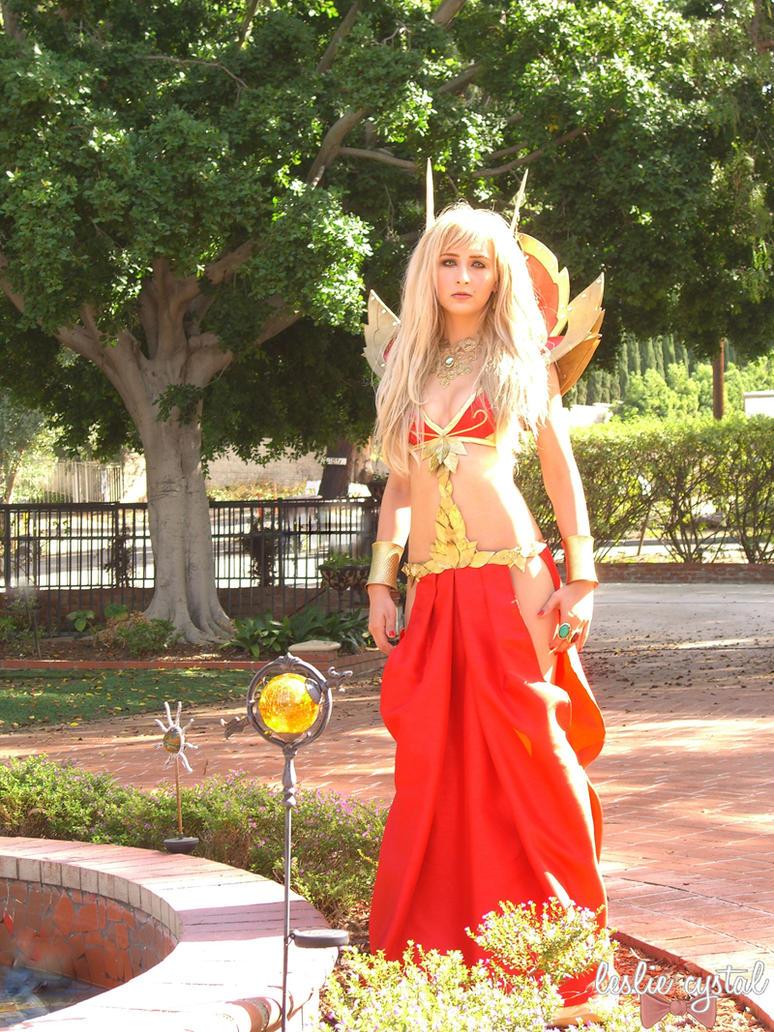 World of Warcraft - Blood Elf by lesliecrystal