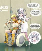 The nurturing nurse by uberis