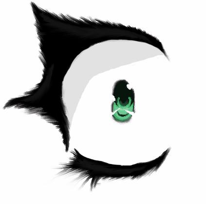 anime eye scared shocked female by flariu on deviantart