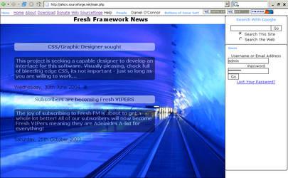 Fresh Framework Alternate