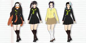 Kimetsu Gakuen Girls