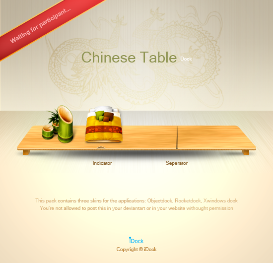 Chinese Table by idock