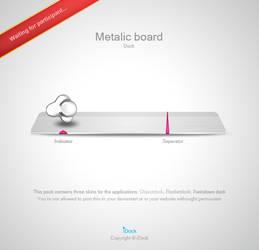 Metalic Board by idock