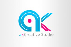 AK Logo by Mughalkamran