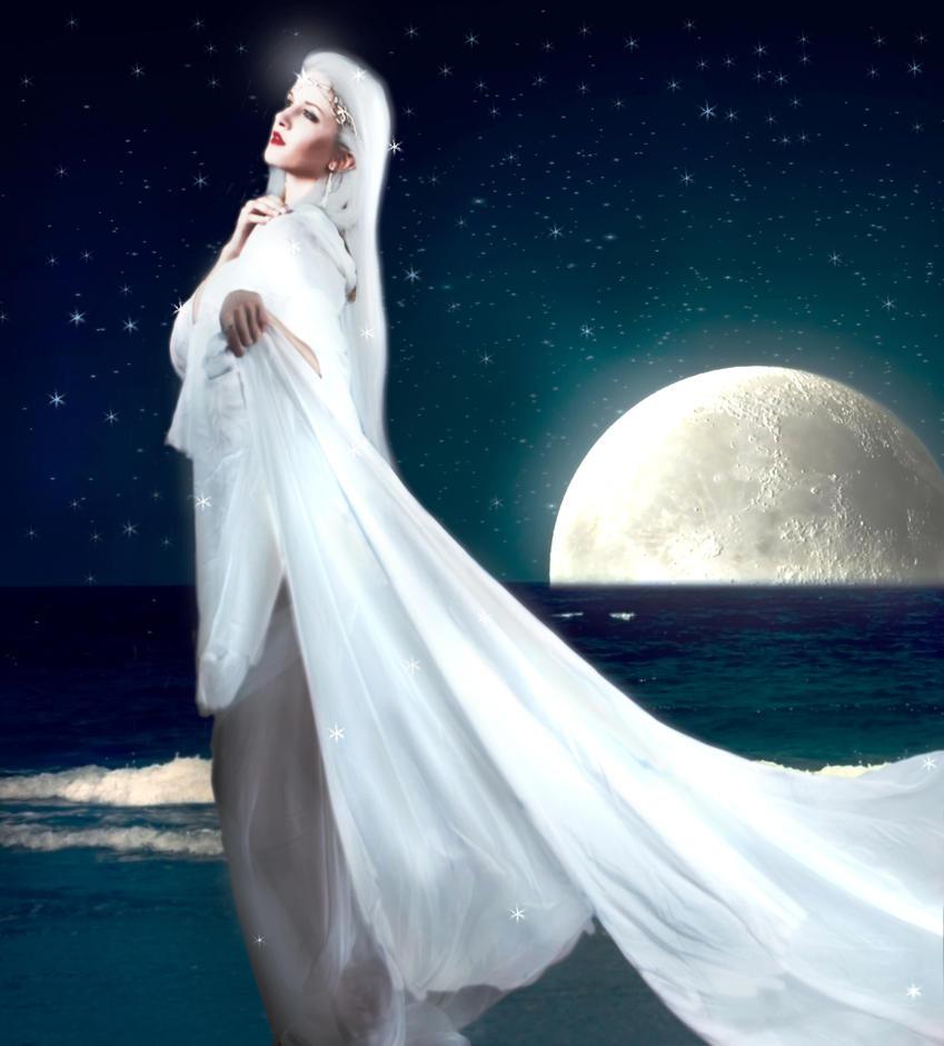 Moon Goddess By Grauherz On Deviantart