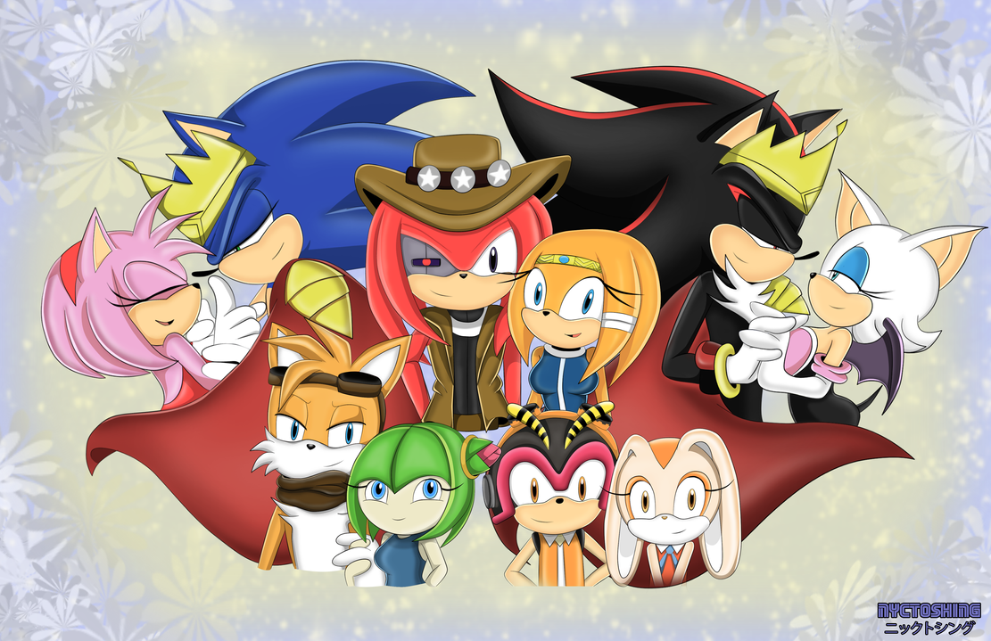 [RQ] Sonic Couples by nyctoshing