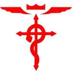 Full Metal Alchemist - Cross logo