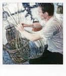 Basketweaver at work by susarf