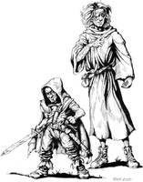 Monty and Xzar by Xzaren
