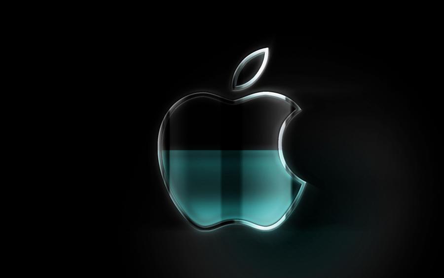 apple wallpaper black2 by teundenouden on deviantart