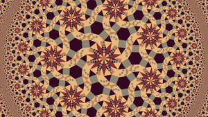hypertile-like 12-fold tile