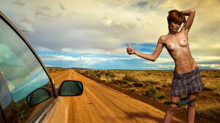 Hitchhiker by MurzilkaMuller