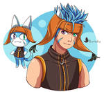 Ranulf x Animal Crossing by Hikarimika