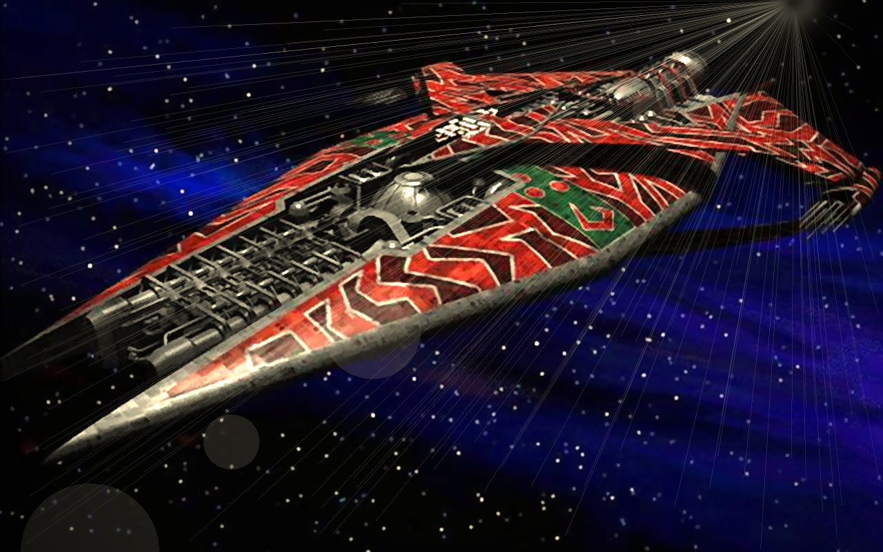 Narn Cruiser desktop by Jett-Moonwing