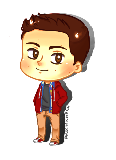 Teen Wolf Keychains: Stiles by Tehshi