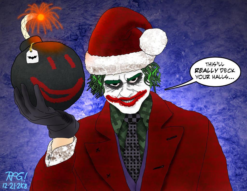 Joker Christmas.A Very Joker Christmas By Rpg8305 On Deviantart