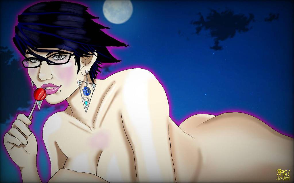 Bayonetta By Moonlight  by RPG8305