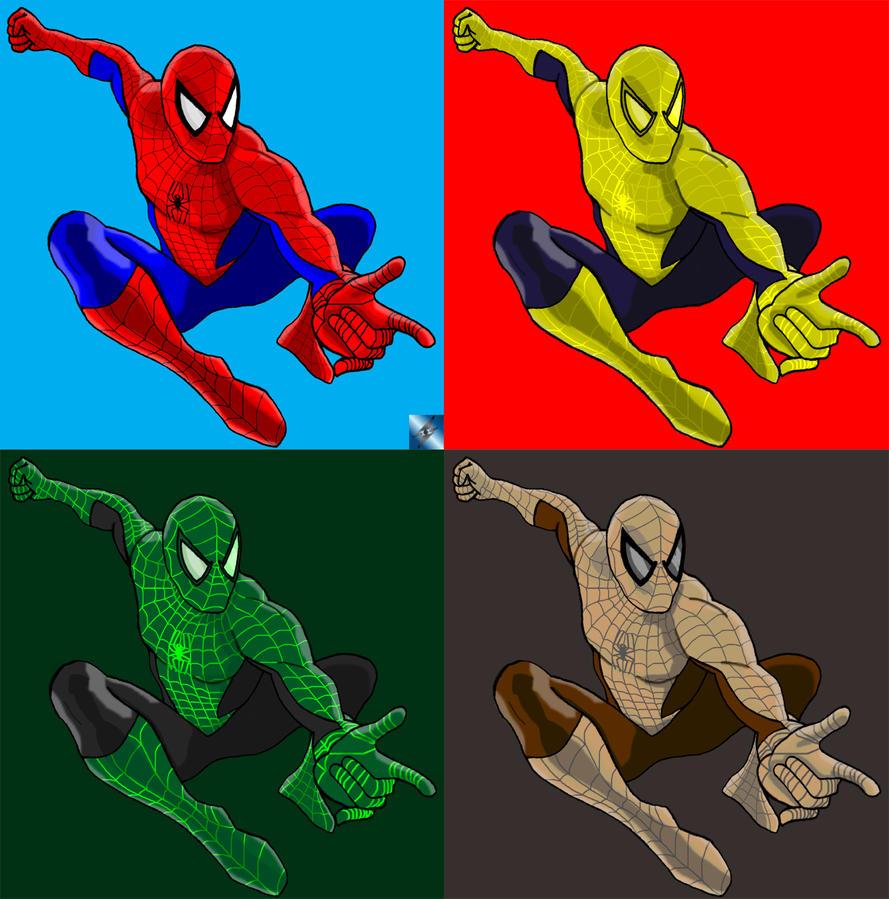 Spider-Man Colors by RPG8305 on deviantART