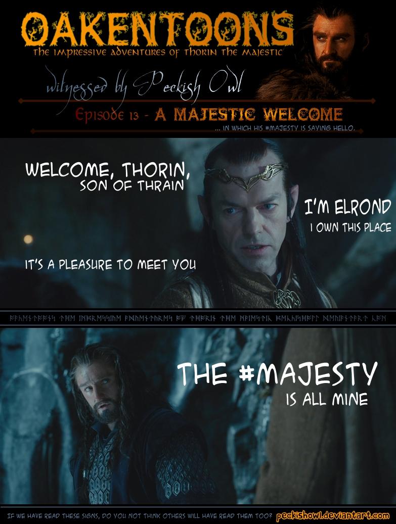 Oakentoon #13: A majestic welcome