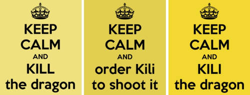 TGD #13: Keep calm and Kili the dragon