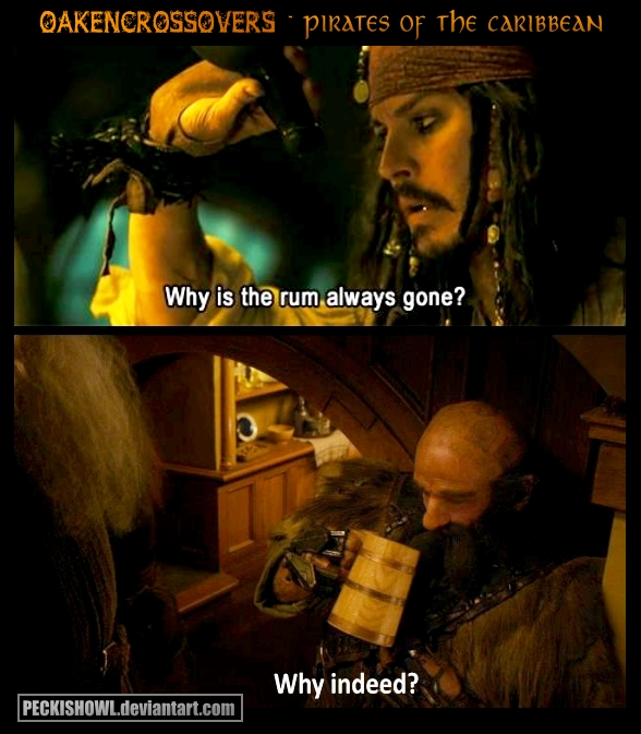 Pirates Of The Caribbean Lord Of The Rings Crossover