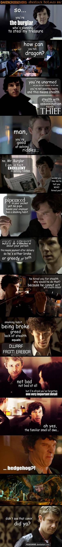 Oakencrossover #14: Sherlock Holmes BBC - pt. 1