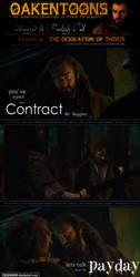 Oakentoon #69: The Desolation of Thorin by PeckishOwl