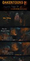 Oakentoon #94: Lecudechesne en flambe