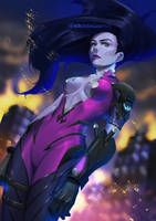Widowmaker everybody by FadeIntoCosmos