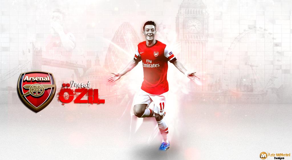 Wallpaper Ozil(Arsenal) By:Aziz Mokrani by Aziz25GFX on ...