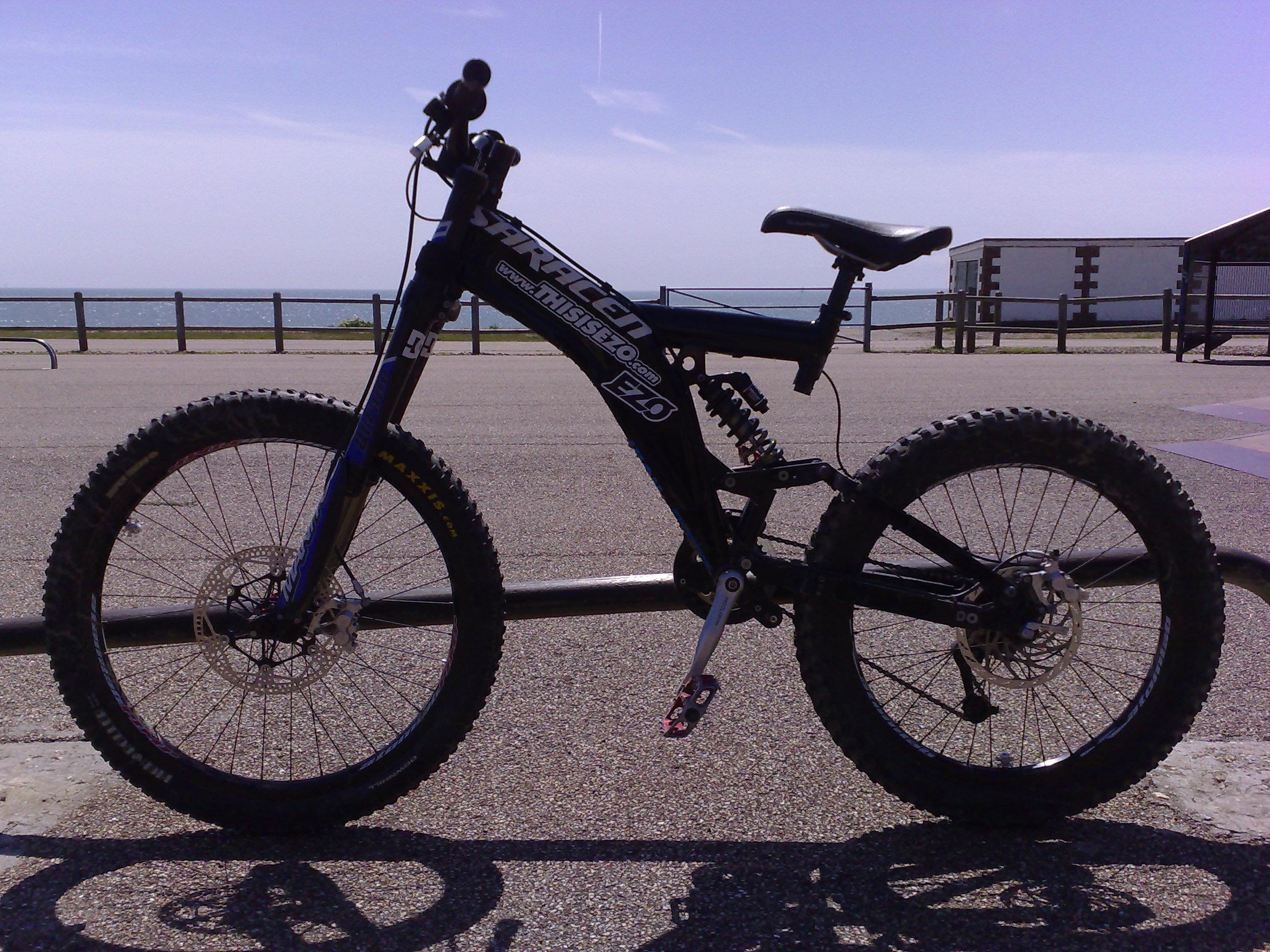 My downhill bike by PaulDavidLett