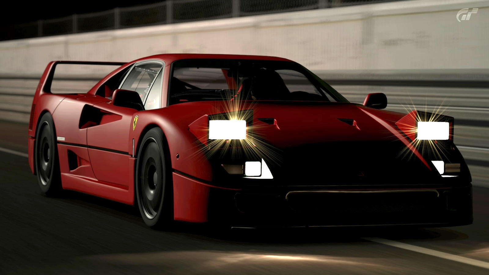 Good Wallpaper Night Ferrari - ferrari_f40_by_pauldavidlett-d4mwutm  2018-887765.jpg