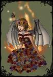 azaleasdolls dark fairy Flower demon