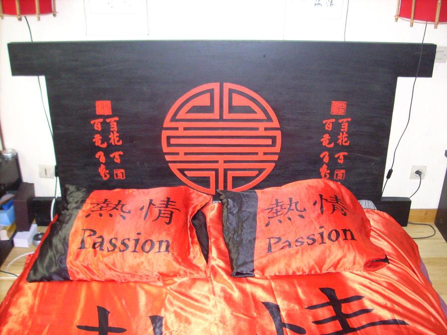 tete de lit asiatique by kuryus on deviantart. Black Bedroom Furniture Sets. Home Design Ideas